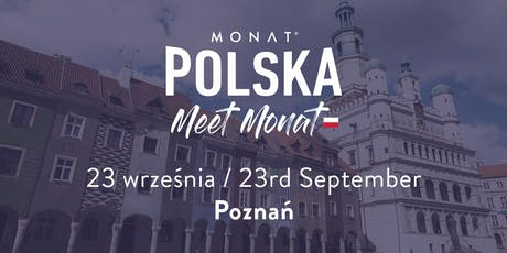 Meet MONAT Poznan tickets