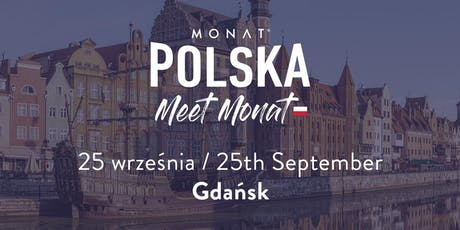 Meet MONAT Gdansk tickets