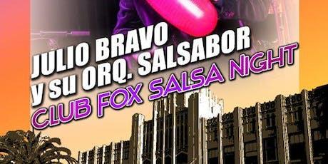SALSA SPOT - Julio Bravo y su Orquesta Salsabor tickets