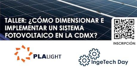 ¿Como dimensionar e implementar un sistema fotovoltaico en la Ciudad de México? boletos