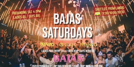 Bajas Saturdays | FSU vs Louisville Official AfterParty