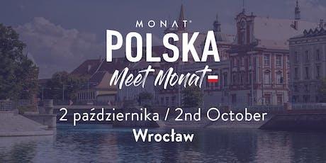 Meet MONAT Wrocław tickets