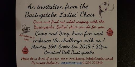 Basingstoke Ladies Choir New Members Evening