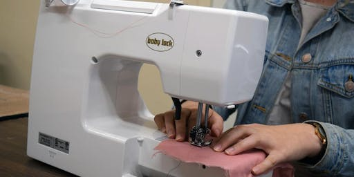 Introduction to Sewing Machines workshop at Ragfinery