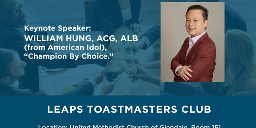LEAPS Toastmasters Open House
