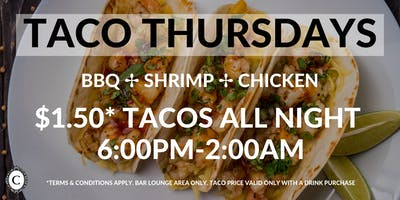 $1.50 Taco Thursdays at Concerto Koreatown Los Angeles