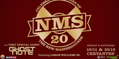 2-DAY PASS: The New Mastersounds w/ Very Special Guests Ghost-Note tickets