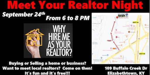 Meet Your Realtor Night