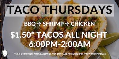 $1.50 Taco Thursdays at Concerto Koreatown Los Angeles