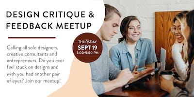 Design Critique & Feedback Meetup