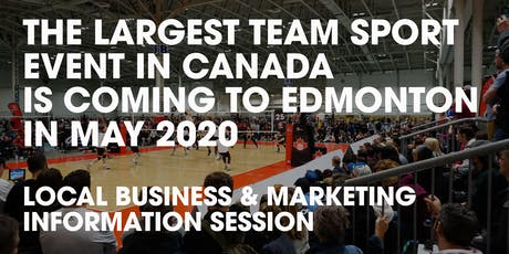 Volleyball Canada 2020 Nationals: Business and Marketing Information Session tickets