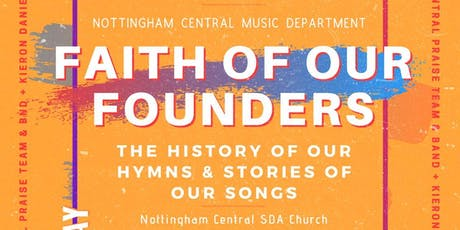 FAITH OF OUR FOUNDERS tickets