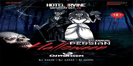 2nd Annual  Persian Halloween Party  - Hotel Irvine