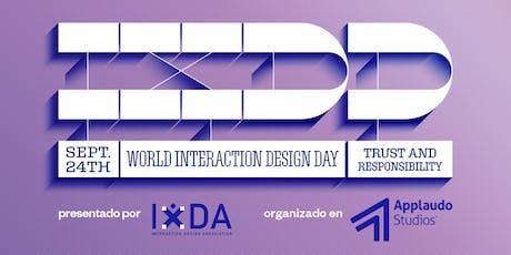 World Interaction Design Day 2019 San Salvador boletos
