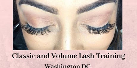 Effortless 10 Classic + Volume Lash Extension Training - Washington DC. October 12th  tickets