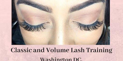 Effortless 10 Classic + Volume Lash Extension Training - Washington DC. October 12th