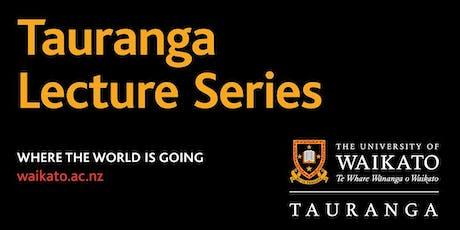 Tauranga Public Lecture Series - Dr Olli Hellmann tickets