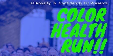 Color Health Run tickets