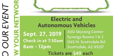 Electric & Autonomous Vehicle tickets