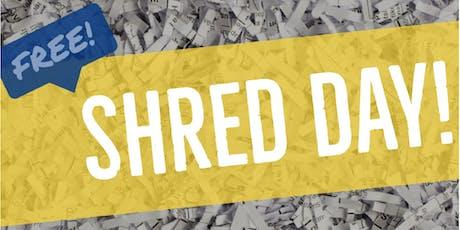 FREE Document Shredding Event tickets