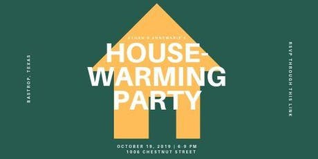 Athan and AnneMarie's Housewarming Party tickets