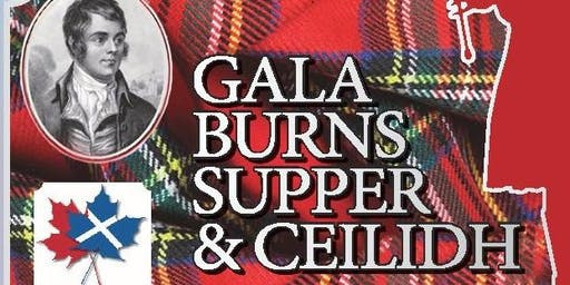 GALA BURNS SUPPER & CEILIDH 2020