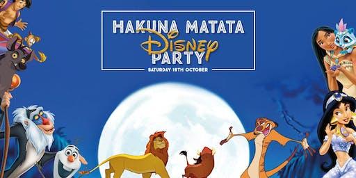 Hakuna Matata Disney Party