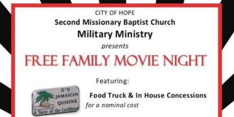 Family Fun Night: Free Movie and G's Jamaican Food Truck   tickets