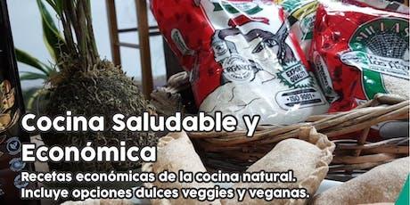 """TALLER GRATUITO """"Cocina Saludable y Económica"""" - dulces veggie y veganas entradas"""
