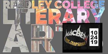 Reedley College Literary Arts:  Macbeth tickets