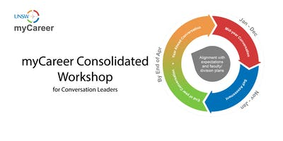 UNSW myCareer Consolidated Workshop for Conversation Leaders