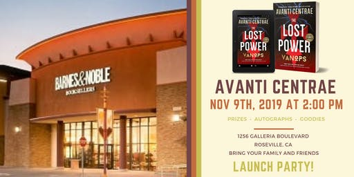 VanOps Book Launch at Roseville Barnes & Noble