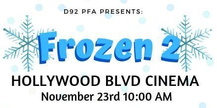 D92 PFA Frozen 2 Movie Event