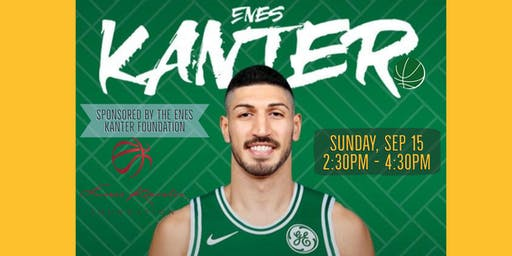 BACK-TO-SCHOOL BASKETBALL: LEARN & PLAY BALL WITH ENES KANTER (AGES 8 - 18)