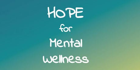 HOPE for Mental Wellness October 13th, 2019! tickets