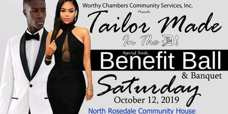 Tailor Made In The D! 1st Annual Down Syndrome Benefit Ball & Banquet  tickets