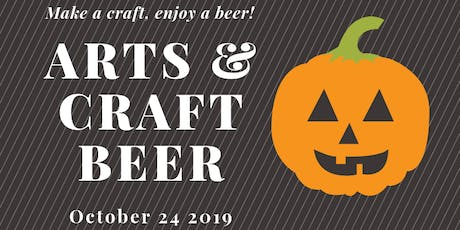Arts & Craft Beer (Pumpkin Carving) tickets