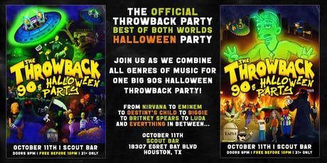 The Throwback 90s Halloween Party tickets