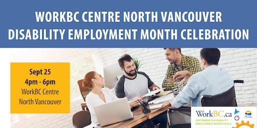 WorkBC Centre North Vancouver Disability Employment Month Celebration