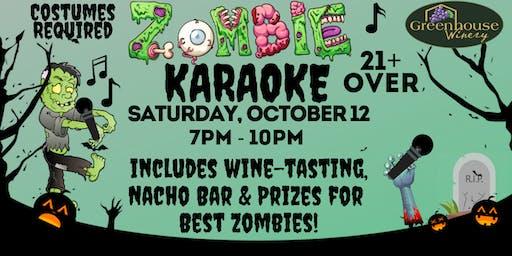 Zombie Karaoke Night