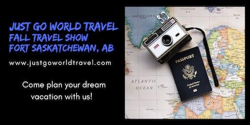 Just Go World Travel's Fall Travel Show in Fort Saskatchewan