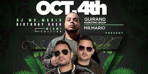 DJ Mr. Mario Birthday Bash - MIAMI EDITION