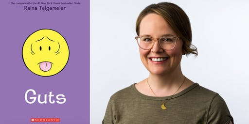 Raina Telgemeier has GUTS