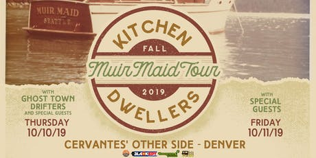 2 DAY PASS: Kitchen Dwellers tickets