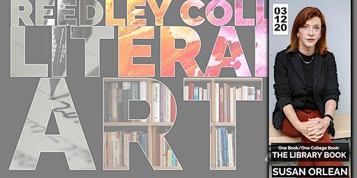 Reedley College Literary Arts:  Susan Orlean