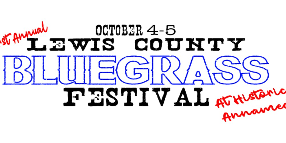 Lewis County Bluegrass Festival Tickets, Fri, Oct 4, 2019 at