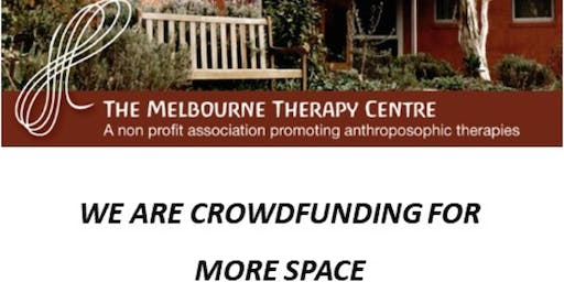 Melbourne Therapy Centre Crowdfunding Launch