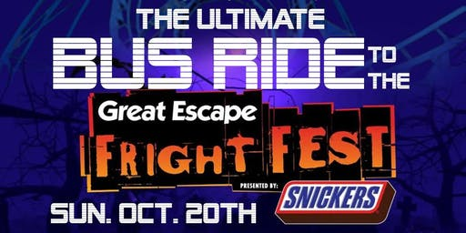 MyKingstonKids Great Escape Fright Fest Bus Ride