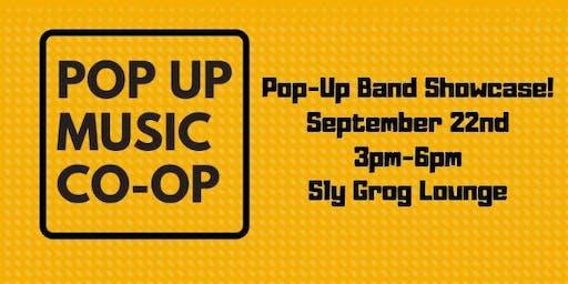 September Pop Up Music Co-Op Showcase!