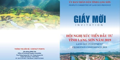 Investment Promotion Conference - Lang Son Province, Vietnam